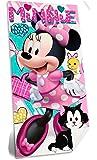 Disney Minnie WD19455 Telo Mare, Spiaggia, Asciugamano, Cotone, Piscina, 70 X 140 Centimetri, Multicolore
