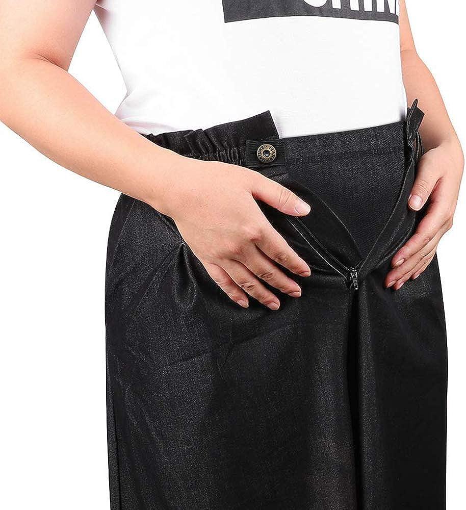 2 Couleurs Extension de Ceinture de Maternit/é Pantalon de Grossesse T/élescopique de Maternit/é Extension de Taille /Élastique R/églable Yi Zhou 2 Pantalons de Maternit/é de Maternit/é