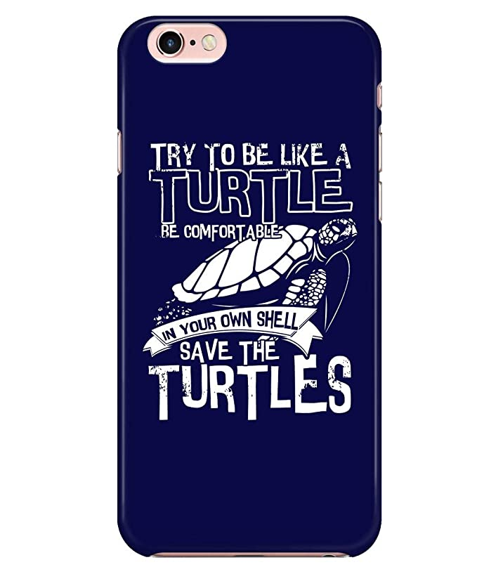 02d6751347 Amazon.com: iPhone 7/7s/8 Case, Try to Be Like A Turtle Case for Apple  iPhone 7/7s/8, Save The Turtles iPhone Case (iPhone 7/7s/8 Case - Black): Cell  Phones ...