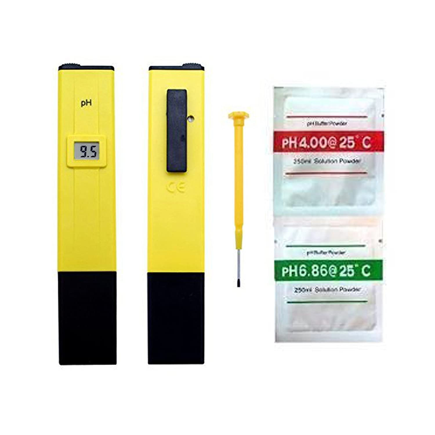 0.1 Resolution Digital PH Meter Large LCD Pen Water Quality Tester and 0.0-14.0 Measurement Range Magic Show