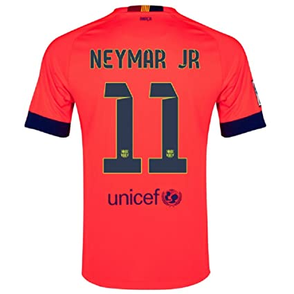 26e1fd433 Image Unavailable. Image not available for. Color  Nike Barcelona Away Jersey  2014-15 Neymar  11 Size Adult Large