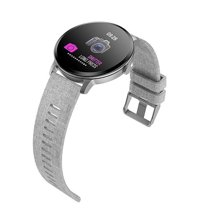 muvit iO Reloj de Actividad y Salud Health Custom Gris ...