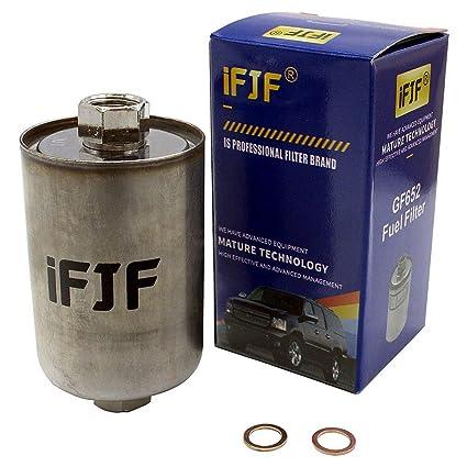 amazon com ifjf gf652 (ff3504dl) professional fuel filter for chevy 03 Tahoe Fuel Filter ifjf gf652 (ff3504dl) professional fuel filter for chevy tahoe, chevrolet gmc 1500