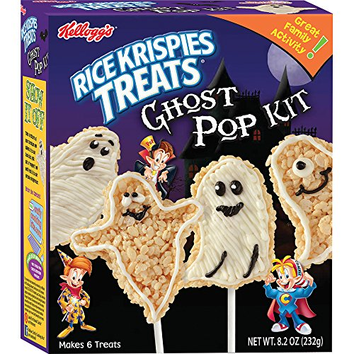 Crafty Cooking Kits Kellogg's Rice Krispies Treats Ghost Pop Kit, 8.18 -