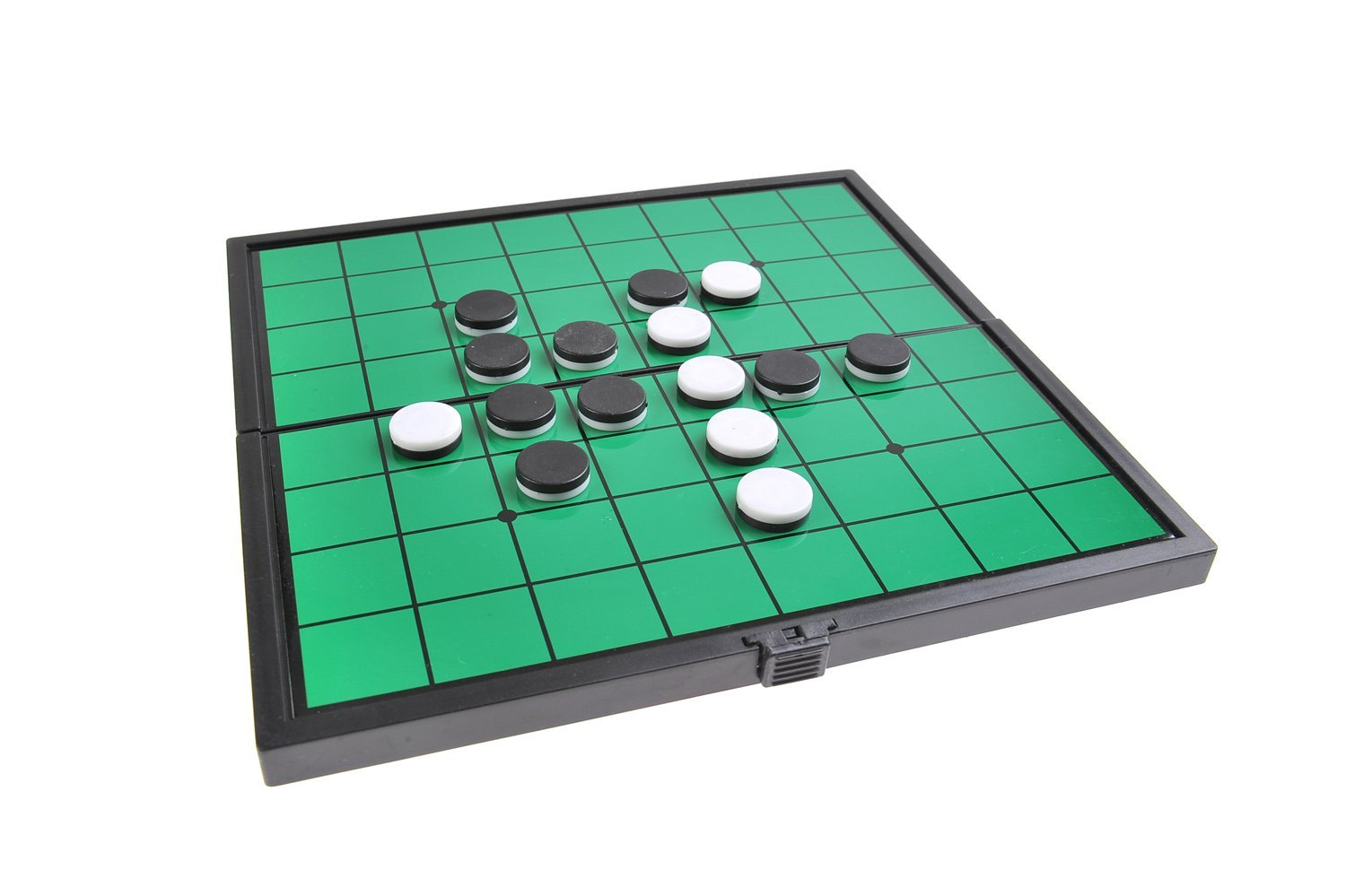 Quantum Abacus Magnetic Board Game (Compact Travel Size): Reversi - Magnetic Game Pieces, Foldable Board, 7.48 x 7.48 x 0.39 inches, Mod. SC6604 (DE) The Khan Outdoor & Lifestyle Company