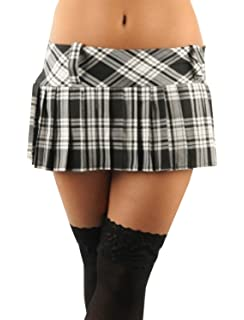 0ca49be2d Ladies Women Girls Scottish 12 Inches Tartan Check Pleated Mini Short Kilt  Skirt 6 Colours