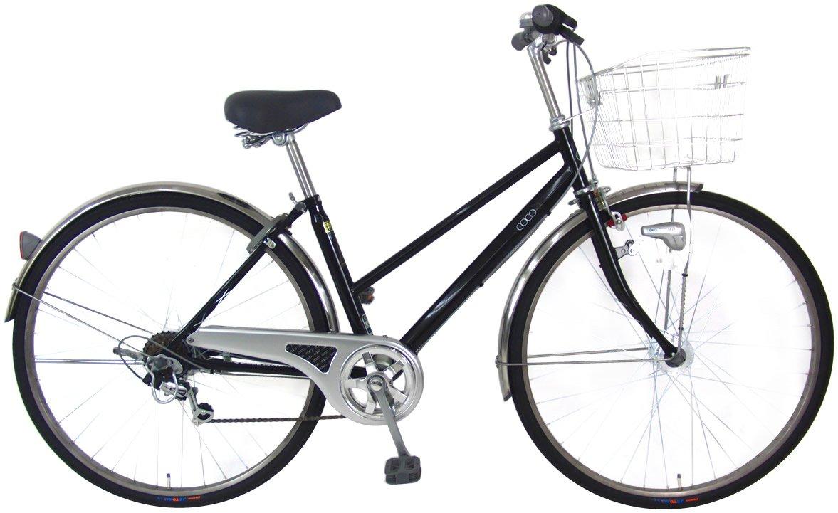 C.Dream(シードリーム) ココスペシャル CC76-SP 27インチ自転車 シティサイクル ブラック 6段変速 100%組立済み発送   B016URBC3K