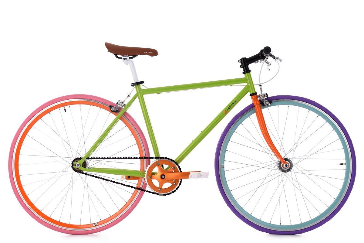KS Cycling Fixie Fitnessbike 28' Essence grün RH 47 cm Fahrrad KSCA5|#KS Cycling 304R