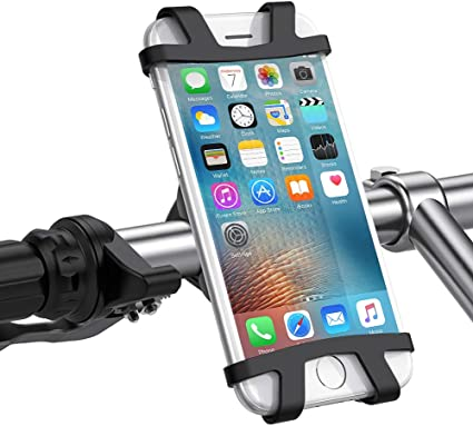X 360/° Adjustable Universal Motorcycle Phone Mount Compatible with iPhone 11 S10 B-Land Bike Phone Mount Cell Phone Holder for Motorcycle 8 Plus 8 7 S9 Bike Handlebars XR 7 Plus| Galaxy
