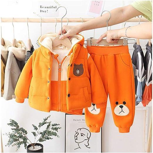 1-3 Año Niños bebés ropa de invierno Conjunto, pantalón largo + ...