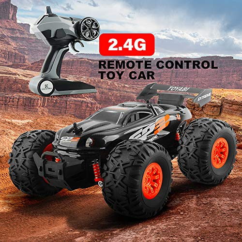 Gizmovine RC Car Toys, Remote Control Monster Truck with 2.4GHz Radio Controlled Vehicle Off Road Remote Control Car for Kids
