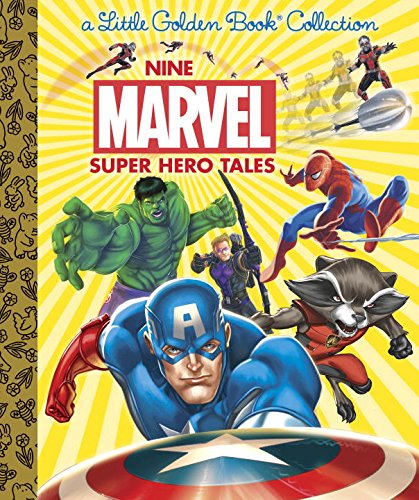 Nine Marvel Super Hero Tales (Marvel)