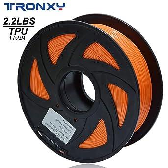 Filamento 3D flexible de poliuretano termoplástico (TPU), color ...
