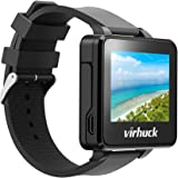 "Virhuck T909 2"" TFT LCD FPV Monitor Watch 5.8GHz 32CH, Wireless Receiver with 3dBi Built-in Antennafor for Spotter, RC Drone Racer, Black"