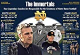 PosterWarehouse2017 THE IMMORTAL, LEGENDARY COACHES OF NOTRE DAME COMMEMORATIVE FOOTBALL POSTER