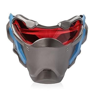 Overwatch OW Máscara 76 Soldado Cosplay Prop Por encargo de Halloween Navidad
