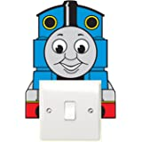Thomas and Friends Train Light Switch Sticker Children's Bedroom Playroom Fun Adhesive Vinyl by V&C Designs Ltd