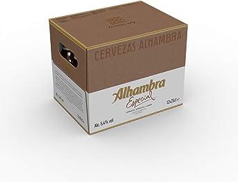 Alhambra - Especial Cerveza Dorada Lager, 5.4% Volumen de Alcohol ...