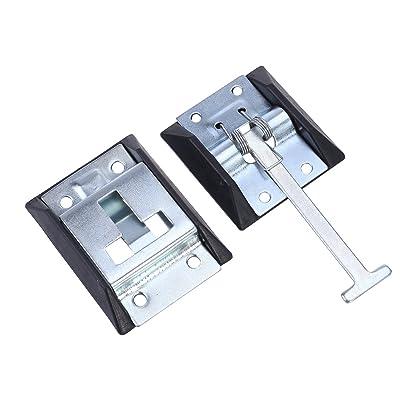 WINOMO Rv Door Holder Metal T-Style Entry Door Catch for Camper Trailer Motorhome: Automotive [5Bkhe1005340]