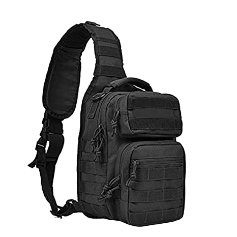 49aeedb64d858e Tactical Sling Bag Pack Military Shoulder Sling Backpack Sport One Strap  Small Backpack for Outdoor Molle