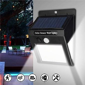 Lámpara de pared LED con sensor de movimiento PIR para ...