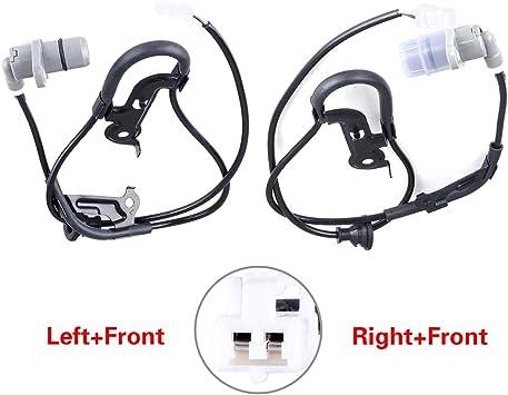 2x ABS Wheel Speed Sensor Rear Left /& Right Fits For Toyota Camry  Avalon Solara