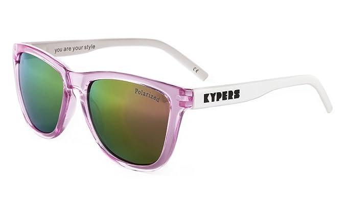 KYPERS Caipirinha Gafas de sol, Clear Pink Mirror, 54 Unisex ...