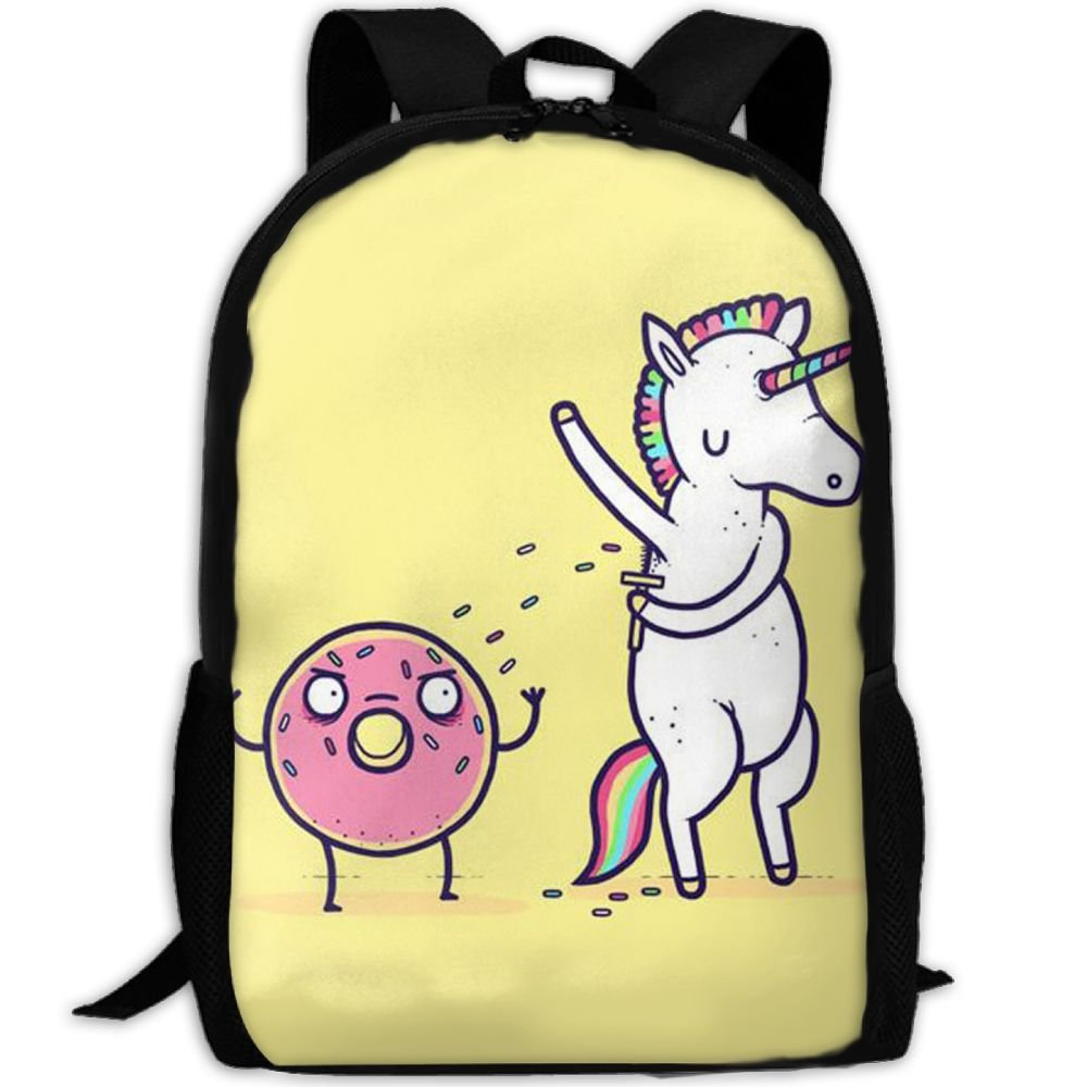 Unicon Horse Sweets Double Shoulder Backpacks For Adults Traveling Bags Full Print Fashion