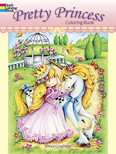 Pretty Princess Coloring Book (Dover Coloring Books) Dover Publications Coloring Books