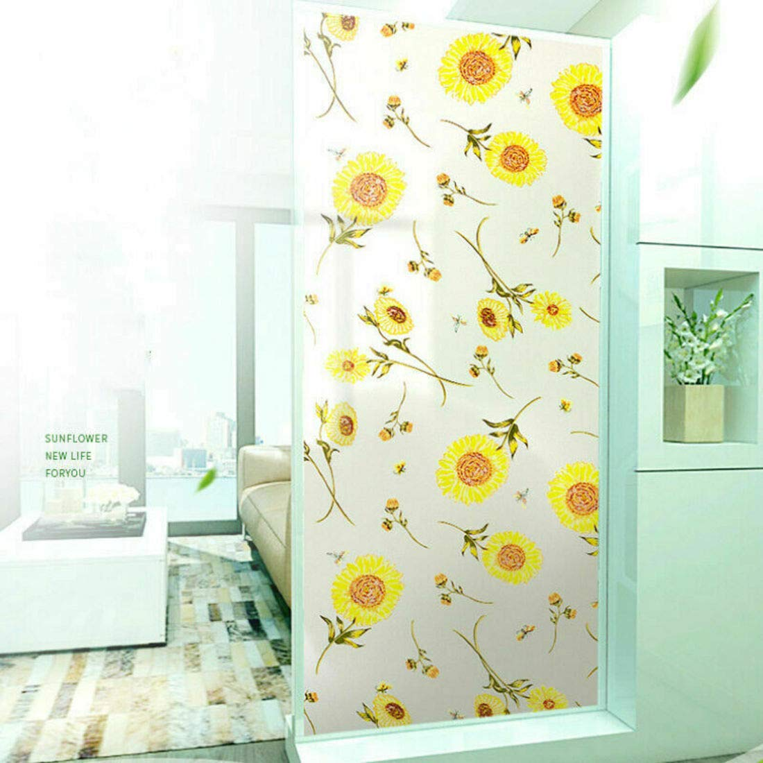 Buy Rising Sparkle Window Films Privacy Film Self Adhesive Decorative Film  for Glass Surface Heat Control Anti UV 18 x 48 inches (Marie 18 x 48  Inches) Online at Low Prices in India - Amazon.in