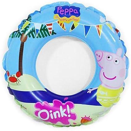 Peppa Pig - Flotador Hinchable (Saica Toys 9111): Amazon.es ...