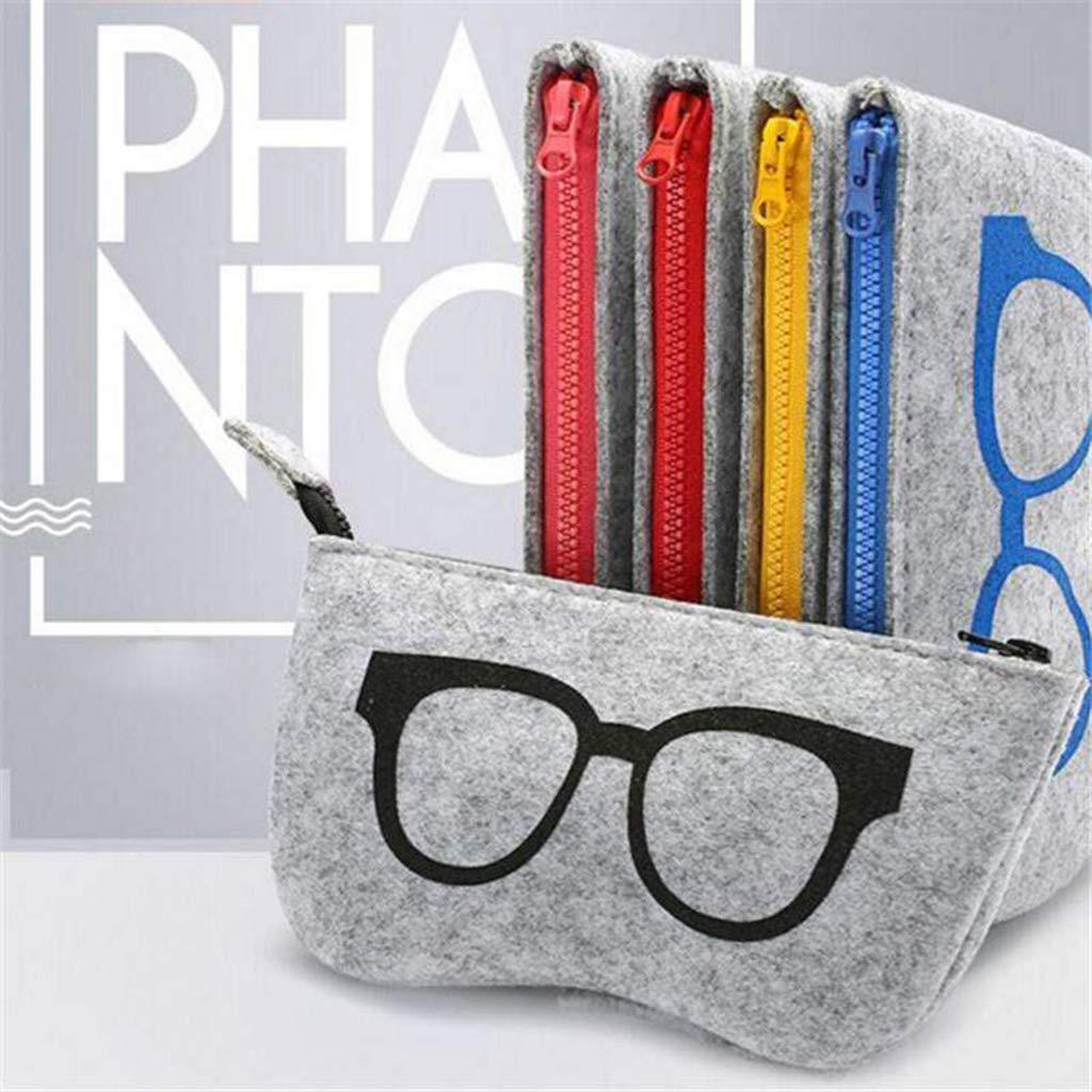 Ogquaton /Scatola per occhiali da sole Scatola per occhiali multifunzione Custodia per occhiali morbida Custodia per occhiali Creativa e utile