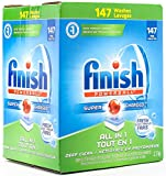 Finish All in 1 Powerball, Super Charged Automatic Dishwasher Detergent, Fresh Scent (147 Tablets)