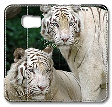 Amazon.com: Animals Tiger White Bengal Tigers Leather Cover ...