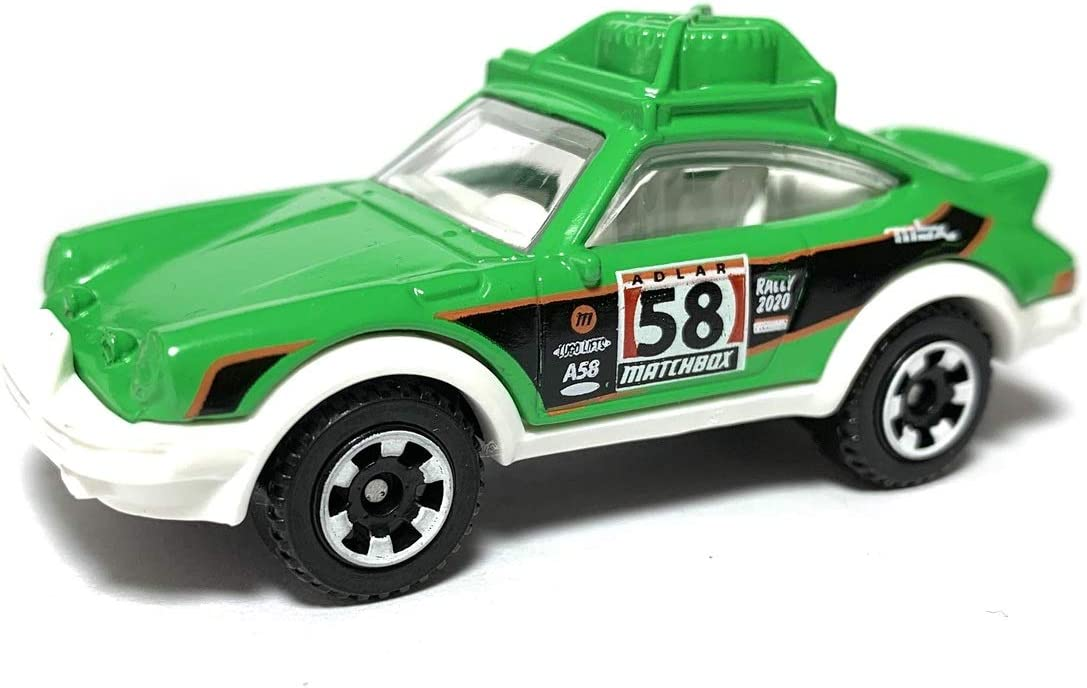 MOC 2020 Matchbox Target Retro #7 Porsche 911 Rally BROWN METALLIC