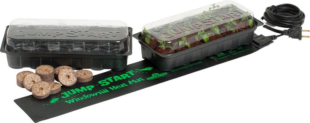 Amazon.com : JumpStart JS6120 Windowsill Semilla partir Heat Mat y Kit Bandeja : Garden & Outdoor