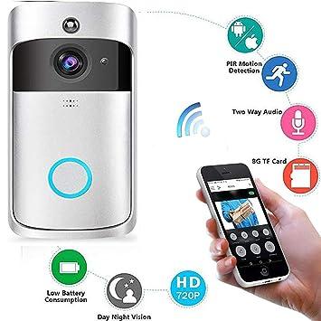 Roboter Ip Video Intercom Wifi Smart Türklingel Kamera Zwei-weg Audio Nachtsicht Pir Motion Erkennung Home Security Türklingel Wiederaufladbare