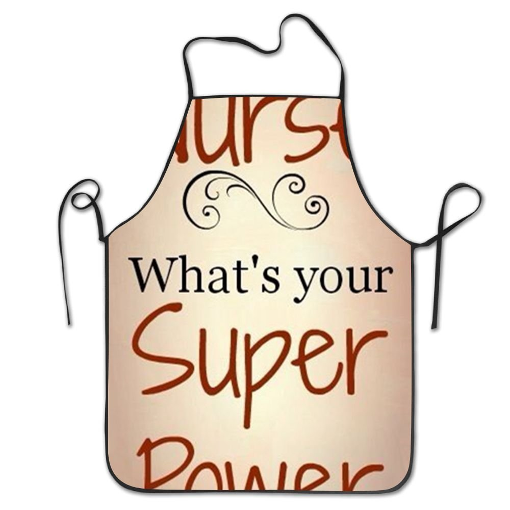 startoronto What's Your Superpower Aprons For Women/men Lightweight Grilling Waist Overhand Funny Chef Apron