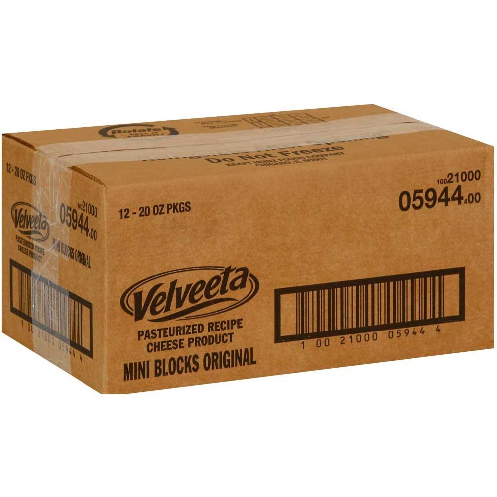 Velveeta Original Mini Block, 1.25 Pound -- 12 per case.