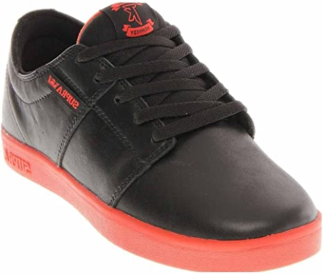 supra tk low stacks shoes black/black