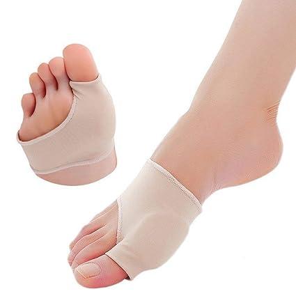 Corrector de juanetes Almohadillas para los pies Almohadillas metatarsianas para el antepié 1 par Separadores juanete