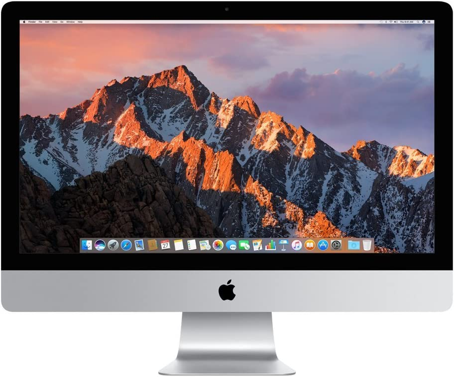 Apple iMac MNE92LL/A 27 Inch, 3.4 GHz Intel Core i5, 8GB RAM, 1TB Fusion Drive, Silver (Renewed)