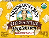 popcorn and butter packets - Newman`S Own Organics Microwave No Butter No Salt Pop'S Corn 2.8 Oz (Pack of 12) - Pack Of 12