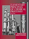 Elementary Principles of Chemical Processes 2005, Felder, Richard M. and Rousseau, Ronald W., 0471720631