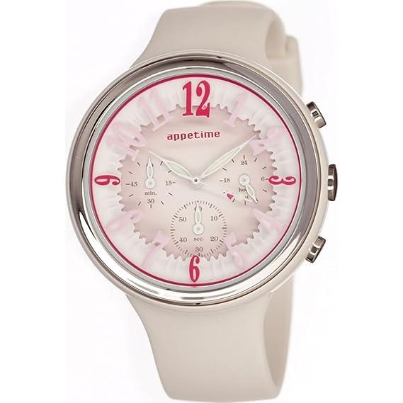 Appetime Svd540015 cronógrafo reloj de mujer de los dulces
