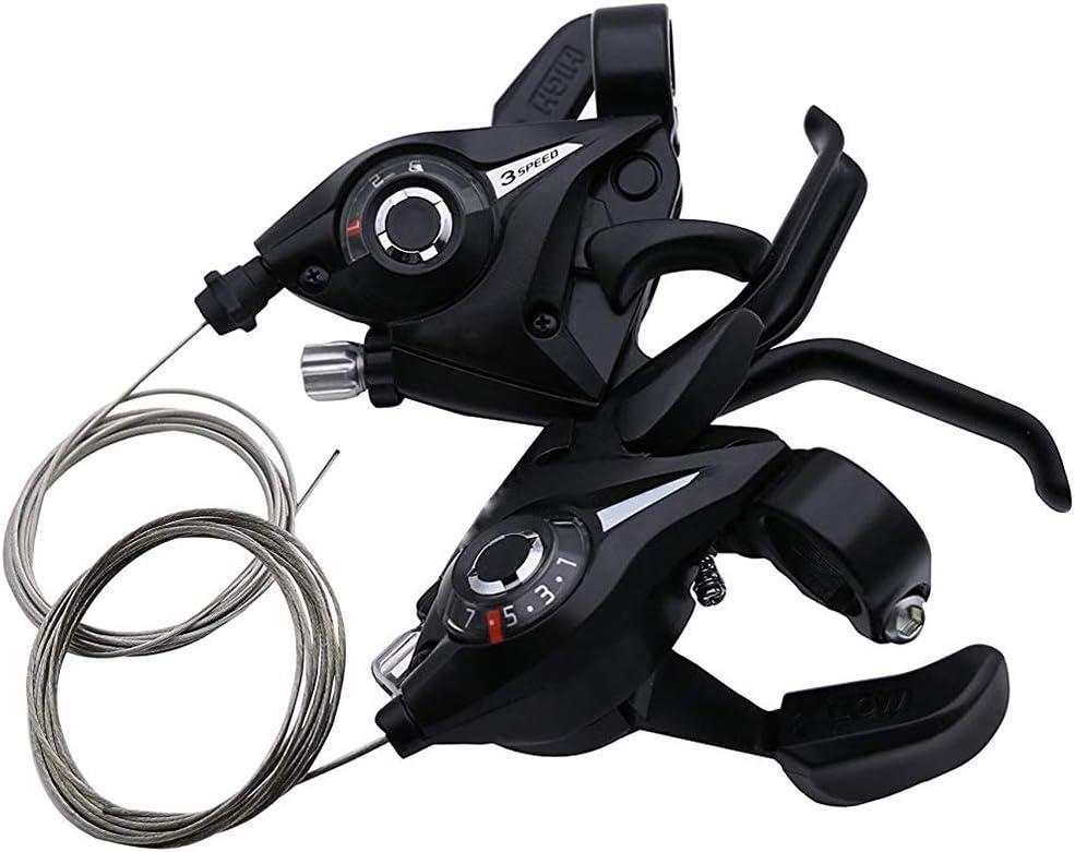 Newin Star Bike Gear Shifter Set 3x7 Velocidad Shifter Freno de Bicicleta de montaña MTB Shifter/Freno de Palanca de transmisión