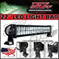 "Tuff Stuff Performance 22"" Off Road Led Light Bar Flood/spot Combo Beam- 3w Cree Led-120w-7500 Lumenbeware -If Its Not Sold By Tuff Stuff It Is a Bad Chinese Copy - Beware"