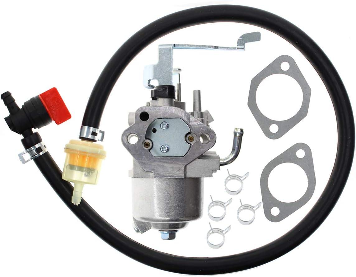 Carbhub EX30 Carburetor for Subaru Robin EX30 Engine Carb Mikuni RGX4800 RGN5100 Replaces 279-62364-20 279-62364-00 279-62364-10 279-62304-40 279-62304-30 Stens 058-161 with Fuel Hose Shut Off Valve
