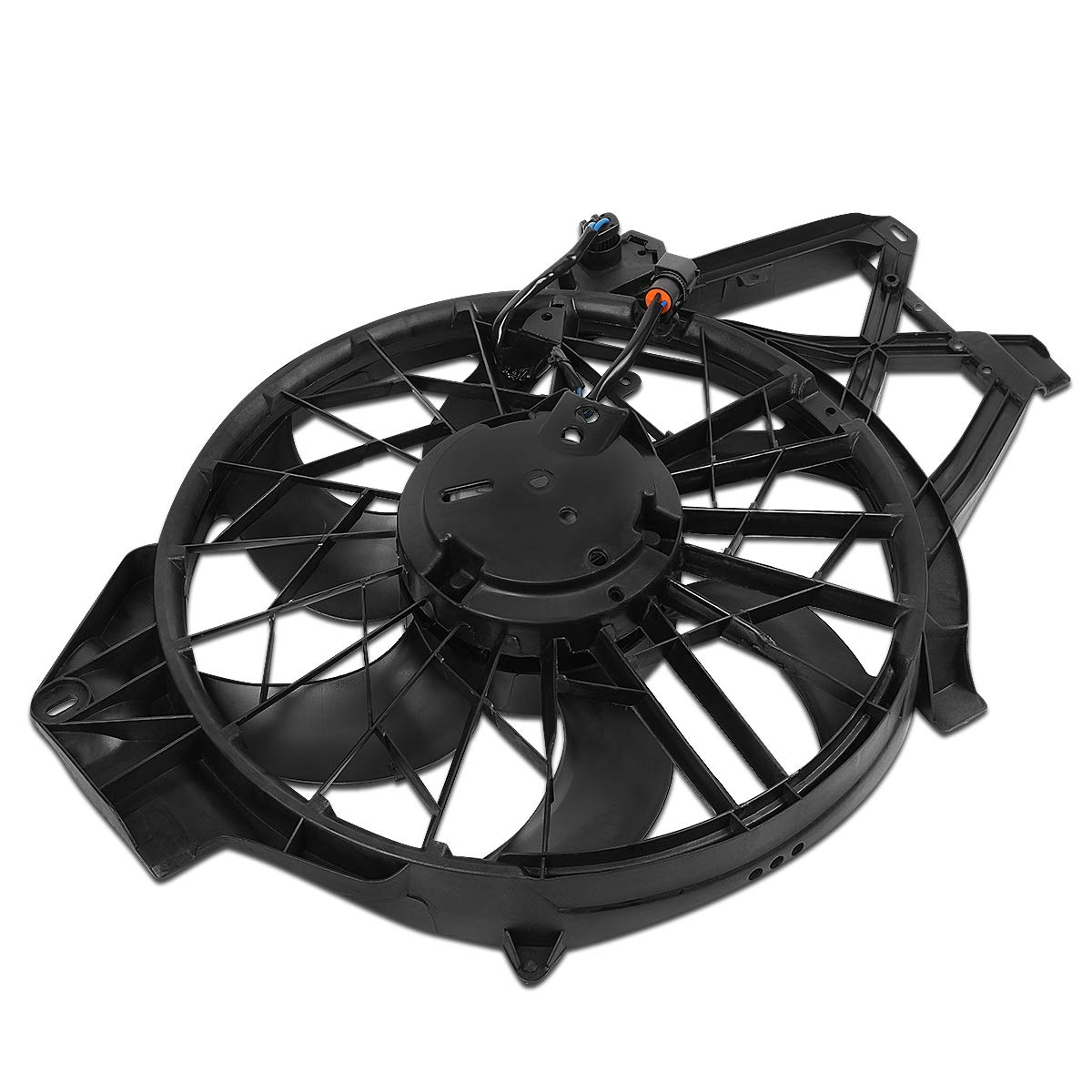 FO3115120 OE Style Radiator Cooling Fan Assembly for Ford Mustang 4.6L DOHC SOHC SC 01-04