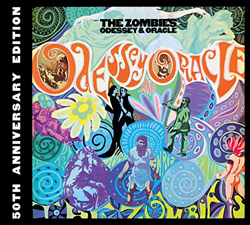 The Zombies Odyssey & Oracle Compact Disc Album un-signed cd New